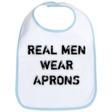 Real Men Wear Aprons Bib