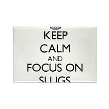 Keep calm and focus on Slugs Magnets
