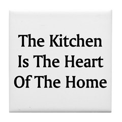 Kitchen Saying Tile Coaster