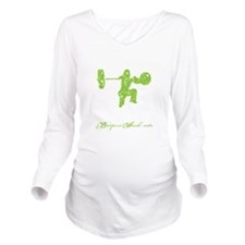 CLEAN LIKE A GIRL -  Long Sleeve Maternity T-Shirt