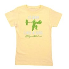 CLEAN LIKE A GIRL - LIME Girl's Tee