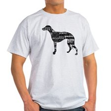 Whippet Silhouette BN T-Shirt