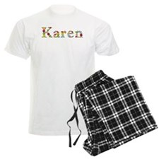 Karen Bright Flowers Pajamas