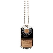 Vintage Payphone Dog Tags