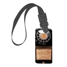 Vintage Payphone Luggage Tag