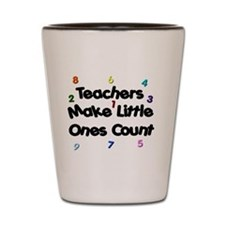 Teacher Count Shot Glass