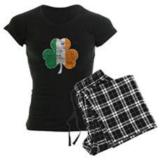 Vintage Irish Flag Shamrock Pajamas