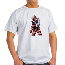 Uncle Sam Alone T-Shirt
