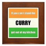 Curry Lover Framed Tile