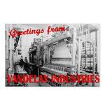 Vintage Vandelay Factory Postcards (Pkg of 8)