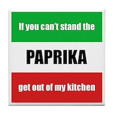 Paprika Lover Tile Coaster