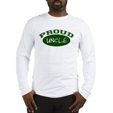 Proud Uncle (Green) Long Sleeve T-Shirt