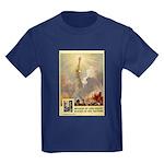 Statue of Liberty Kids Dark T-Shirt