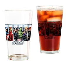 Avengers Assemble Drinking Glass