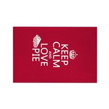 Keep Calm and Love Pie Magnets