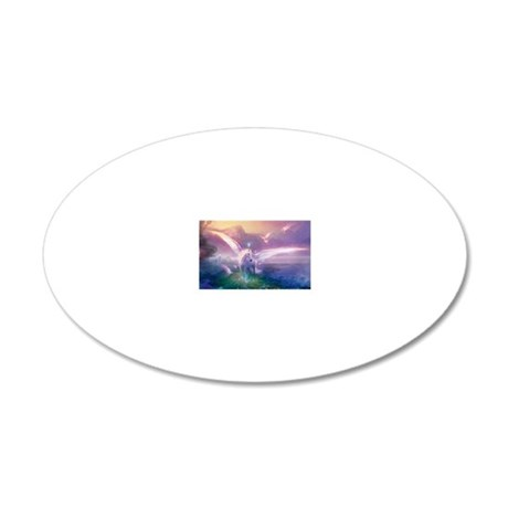 Paradise 20x12 Oval Wall Decal
