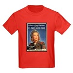 Wartime US Cadet Nurse Corps Kids Dark T-Shirt