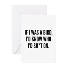 If I Was A Bird Greeting Card