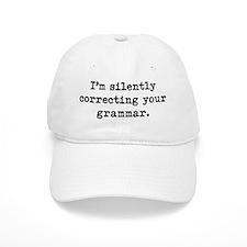 Silently Correcting Your Grammar Baseball Cap