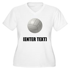 Volleyball Personalize It! Plus Size T-Shirt