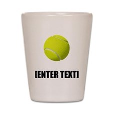 Tennis Personalize It! Shot Glass