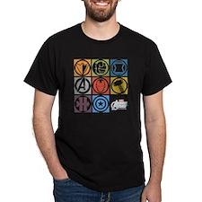 Avengers Squares T-Shirt