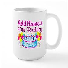 40TH PARTY Mug