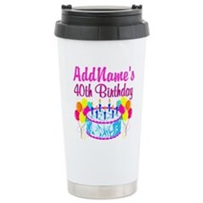 40TH PARTY Travel Mug