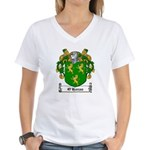 O'Horan Coat of Arms Women's V-Neck T-Shirt