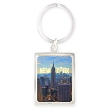 Empire State Building from the T Portrait Keychain