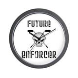Future Enforcer Wall Clock