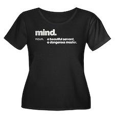 Mind Plus Size T-Shirt