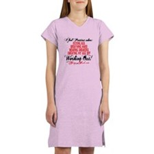I FEEL PRETTIEST WHEN - WHITE Women's Nightshirt