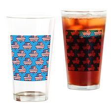 Shamrock Drinking Glass