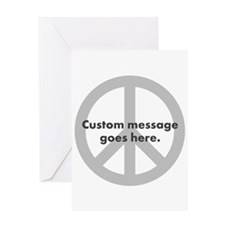 Say Your Peace - Custom Peace Design Greeting Card