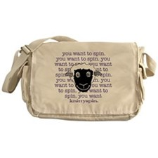 Spinny sheep Messenger Bag