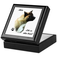 Akita Breed Keepsake Box