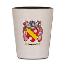 Perroni Coat of Arms (Family Crest) Shot Glass