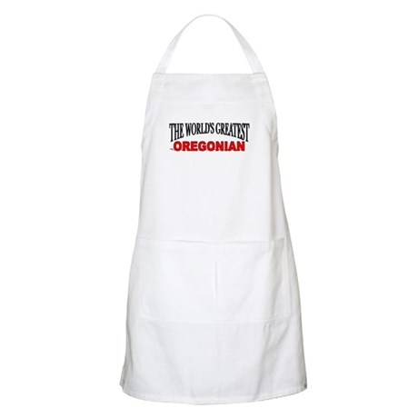"""The World's Greatest Oregonian"" BBQ Apron"