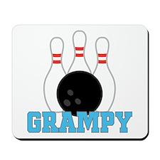 Grampy Bowling Mousepad