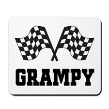 Grampy Racer Racing Mousepad