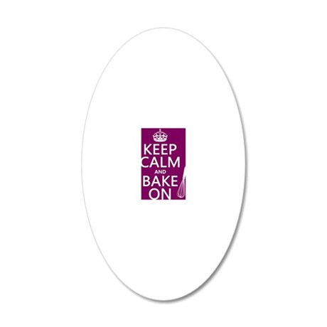 sm-port 20x12 Oval Wall Decal