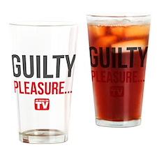 Guilty Pleasure Version 1 Drinking Glass