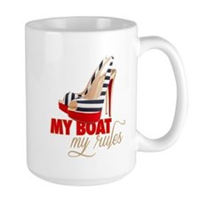 Cute Power boats Mug