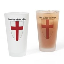 Gimme That Old Time Religion Drinking Glass
