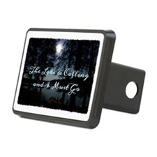 The Lake is Calling and I  Rectangular Hitch Cover