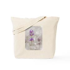 Meadow Penstemons - Fog on the Meadow Tote Bag