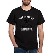 Bachata  dancing designs T-Shirt