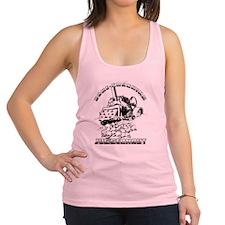 Bone Crushing Juggernaut Logo Racerback Tank Top