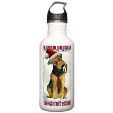 Airedale Terrier Dog C Water Bottle